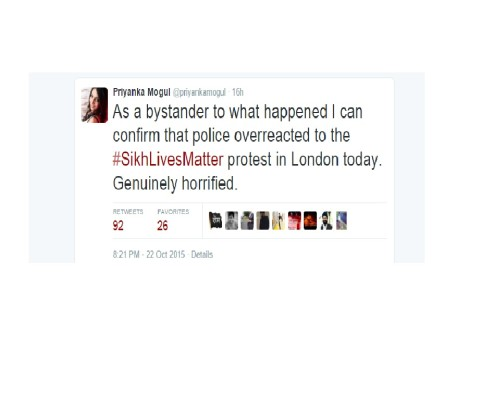 Tweet by IBN Reporter @PriyankaMogul